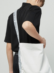 lap tape bag (white)