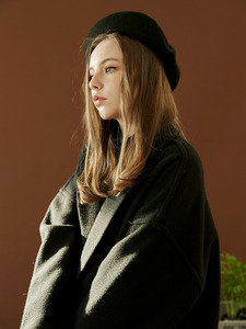 hoist over long coat (black)