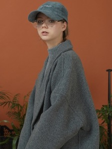 hoist over long coat (deep gray)