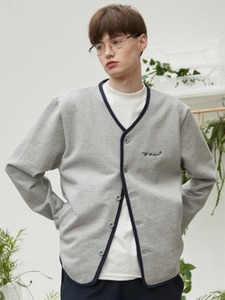 RC sweat cardigan (gray)