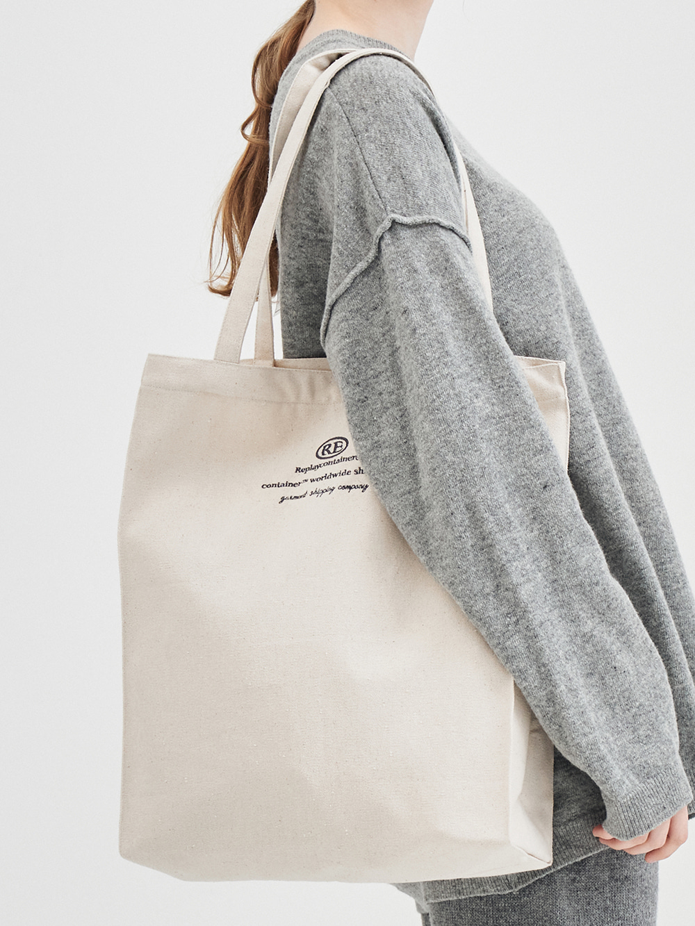 RC worldwide eco bag (oatmeal) [10/28 delivery]